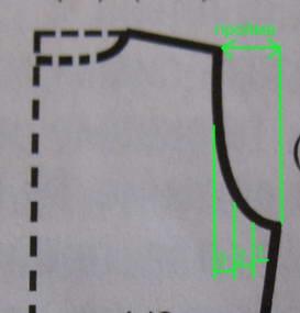 вязание проймы, проймы спицами