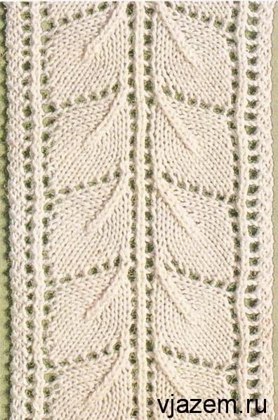 Схемы детских платьев из ажурных узоров спицами