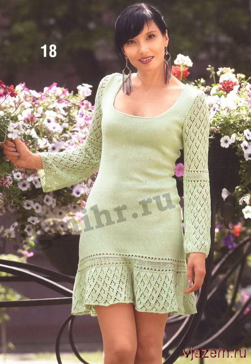 схема вязания платья миссони крючком