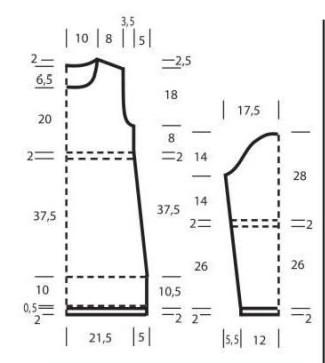 Юбка крючком зигзаг схема фото 963
