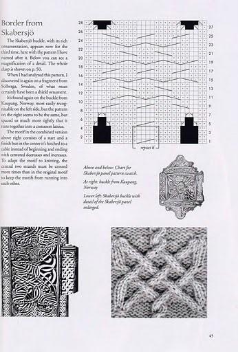Узор косы со схемами фото 77