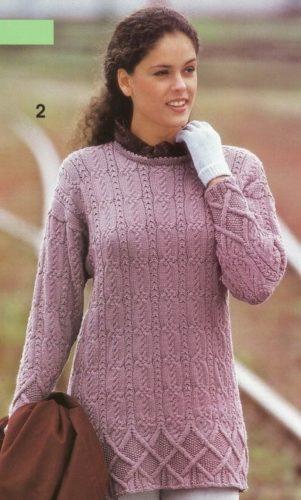пуловеры с аранами