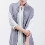 Удлиненный жилет спицами для женщин Vest