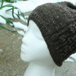 Весенняя женская шапка спицами «Ode to spring»