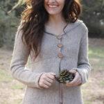 Жакет с деревом из Botanical Knits от Alana Dakos спицами