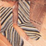 Вязаные носки по спирали спицами