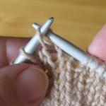 Урок 5. Учимся вязать спицами снятые петли
