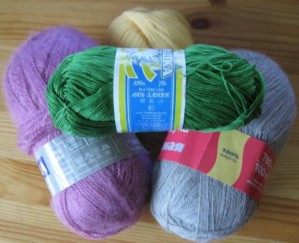 как выбрать пряжу для вязания состав пряжи