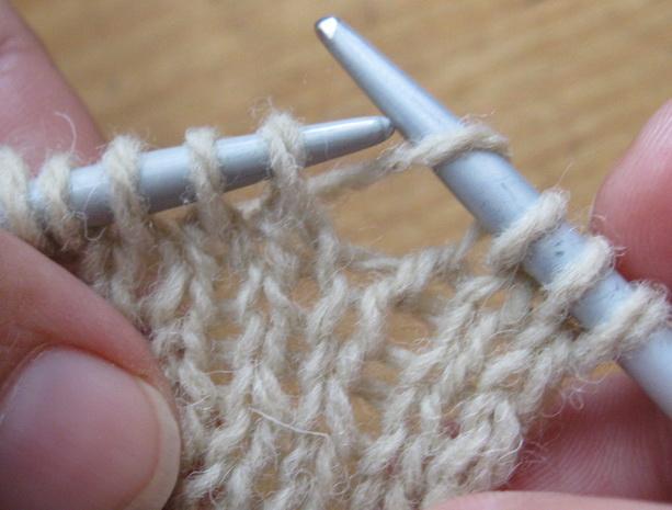 урок 4 как вязать накид спицами
