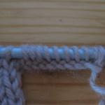платочный набор, наьор петель спицами