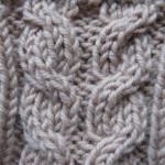 вязание жгутов спицами