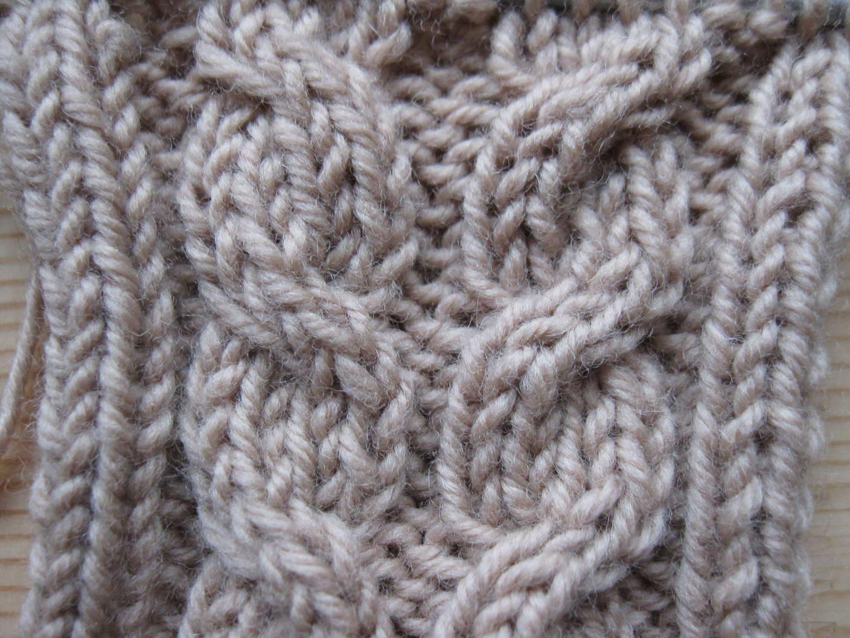 урок 8 вязание жгутов и кос как вязать косы спицами