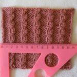 плотность вязания, определение плотности вязания