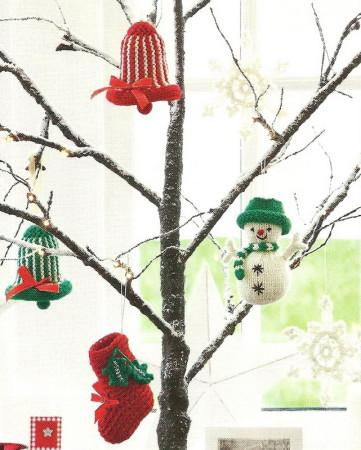 вязаные новогодние игрушки, вязаные новогодние игрушки спицами, снежинки крючком описание