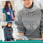 Журнал «маленькая Diana» 13/2013 спецвыпуск: норвежские узоры и жаккарды
