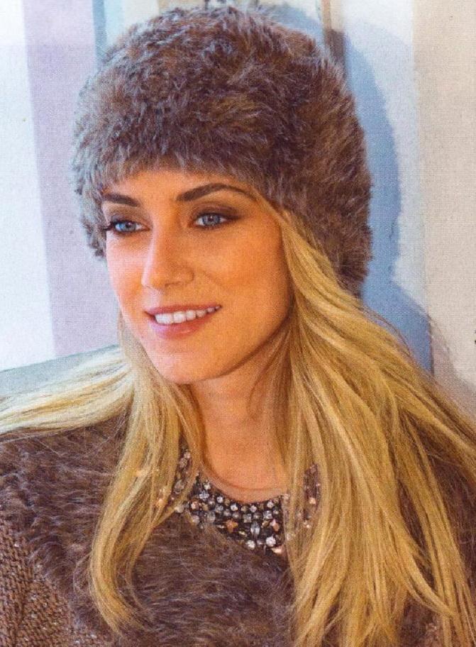 связать красивую шапку