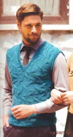 вязание для мужчин спицами