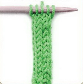 связать шнурок, как связать шнурок спицами