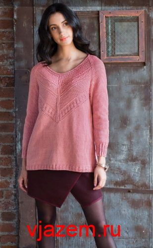 пуловер guernsey от norah gaughan