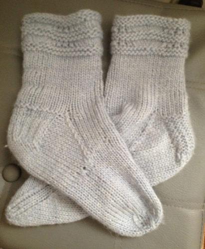 красивые носки связанные спицами