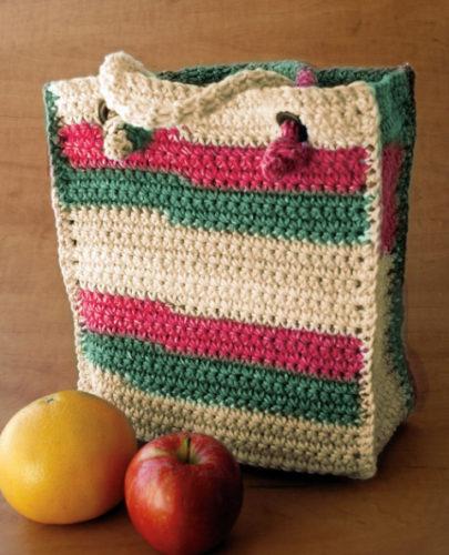 сумка из хлопка крючком