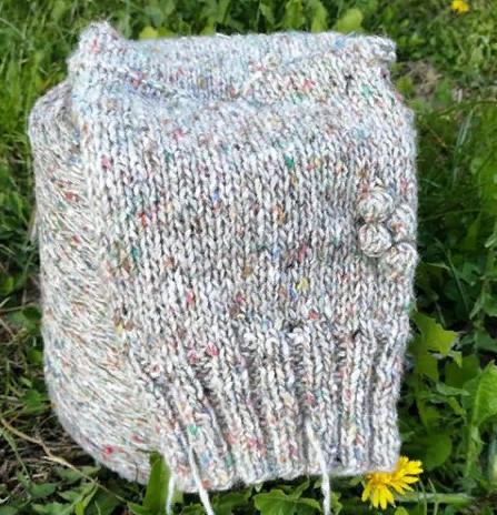 плотность вязания спицами