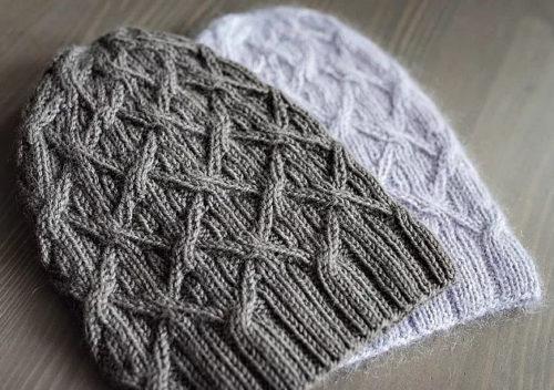 шапка из drops lima