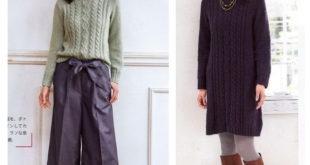 свитер с аранами схема